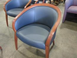 Lowenstein blue Guest chairs