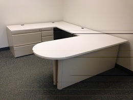 Haworth U Shape Desk