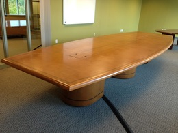 17' Stunning Used Conference Table