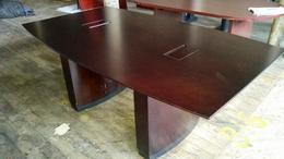 NICE 6ft Dark Walnut Conference Table
