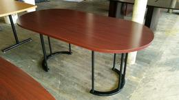 6ft Mahogany laminate used conference table