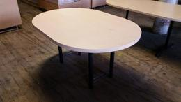 5ft Oval Maple Conf. Table