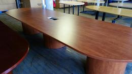 14ft Med. Cherry Conf. Table