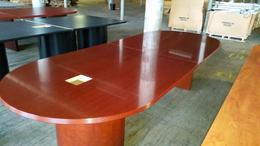 10ft Veneer Rudnick Cherry Conf. Table