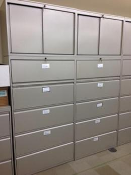 Knoll 5-Drawer Lateral Files