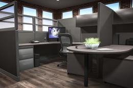 New Friant Office Cubicles