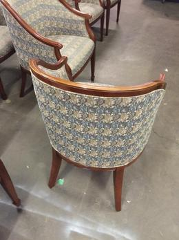 GUEST/SIDE CHAIR by BERNHARDT w/CHERRY FRAME
