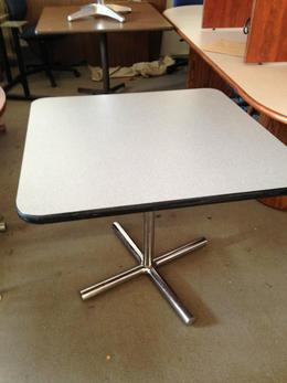 SQUARE CAFETERIA TABLE by FALCON 3ft x 3ft