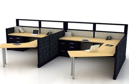 SOLID PANEL SYSTEMS CUBICLES