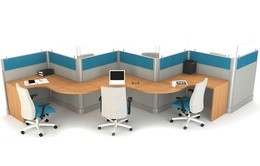 SEGMENTED SYSTEMS CUBICLES