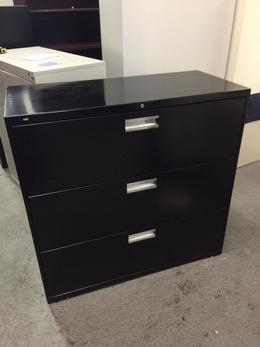 3 DRAWER LATERAL SZ FILE CABINET by HON