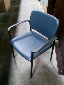 Kimball Blue Stack Chairs