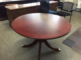 ROUND CONFERENCE TABLE by BERNHARDT