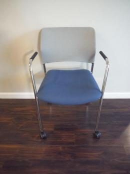 Harter Anthro Mobile Stacking Side Chair