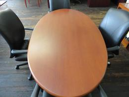 Steelcase Oval Table
