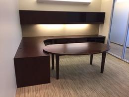 Bernhardt U shaped Office Desk
