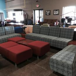 Sectional Reception or Lounge Seating