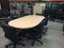 Modern Maple Conference Table