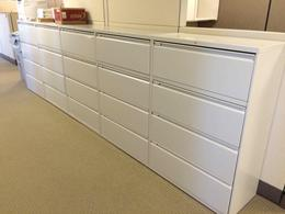 Hon 4 Drawer Lateral Files