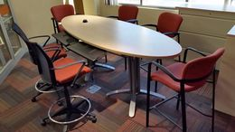 Surf Board Shaped Conference Table