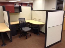 USED HERMAN MILLER CANVAS CUBICLES