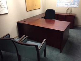 Pre-owned Steelcase L and U Shaped Desks