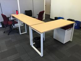 Herman Miller Benching Desks