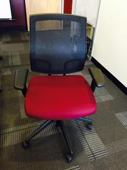 Sit on it Focus Task Chair - RED
