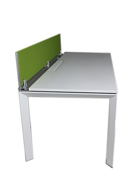 Steelcase White Laminate Collaboration Desk