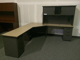 Herman Miller L Shape Desks