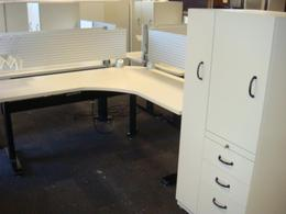 Steelcase Sit or Stand Units.