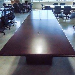 12 ft. Boardroom Table - Walnut -  STUNNING