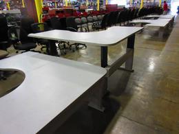Steelcase Height Adjustable L-Shape Desks
