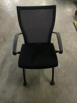 Mesh Back Nesting Chairs