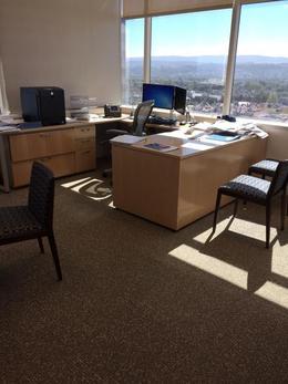 Herman Miller U Shaped Desk Sets