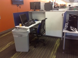 Like New Modern Small Cubicles Knoll Template