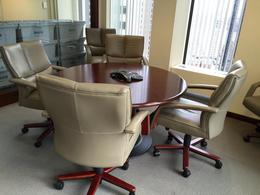 Gunlocke Round Conference Table