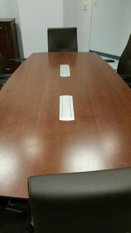 Pre-Owned Artopex 8' Conference Table/Buffet