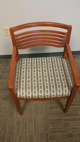 Pre-Owned OFS Wood Guest Chairs