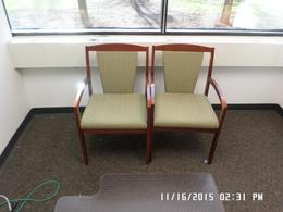 National Wood Framed side chairs