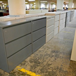 Used 3 Drawer Lateral File Cabinets