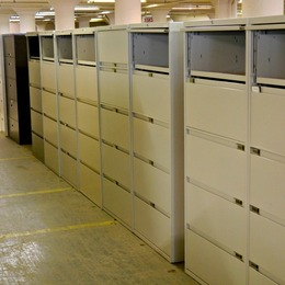 Used 5 Drawer Lateral File Cabinets