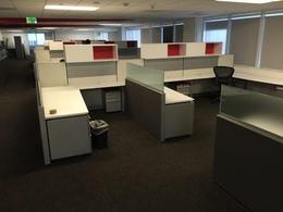 Knoll AutoStrada Cubicle Work Stations