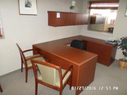 Used National Arrowood Office Desk Sets