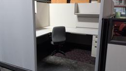 CLEAN Herman Miller AO2 67H 8x8 Work Station