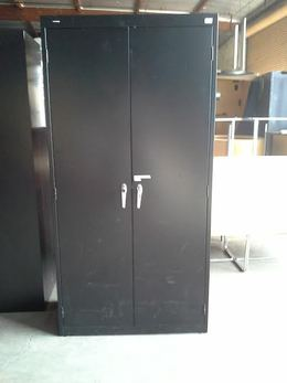 HON Storage Cabinet Black & Used Office Furniture and Used Cubicles - Search at FurnitureFinders