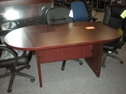 36 x 72 Laminate Conference Tables Mahogany