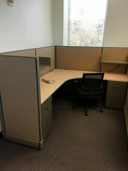 Pre-owned Herman Miller A02 Used Cubicles