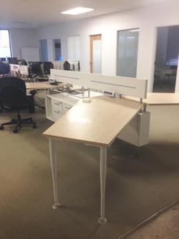 Modern Benching / Desking Systems