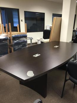 8ft conference table